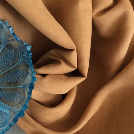 Tissu rouille en lin