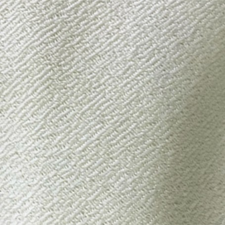 laine gabardine blanche
