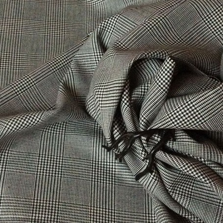 tissu laine mélangée Prince de Galles