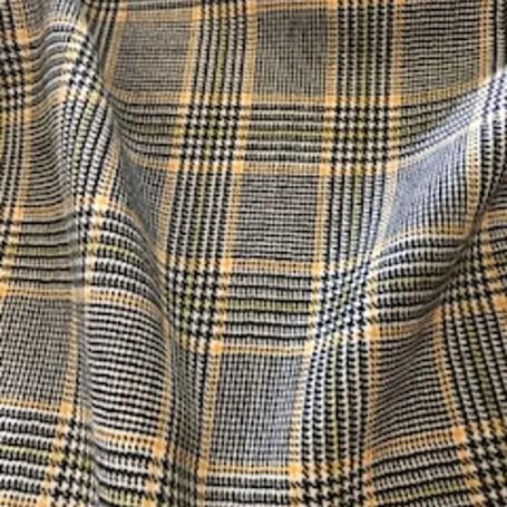 tissu laine peignée Prince de Galles