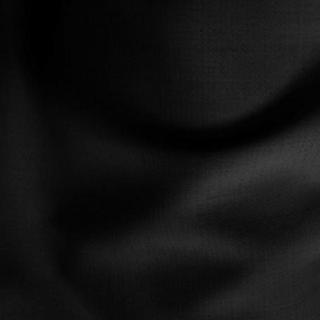 Tissu laine polyester crêpe noir