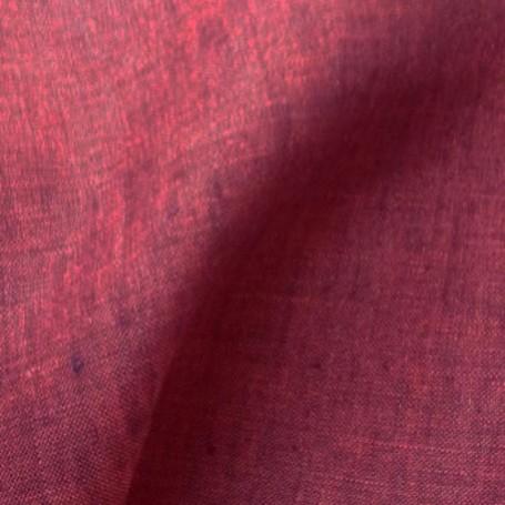Tissu lin rose chiné