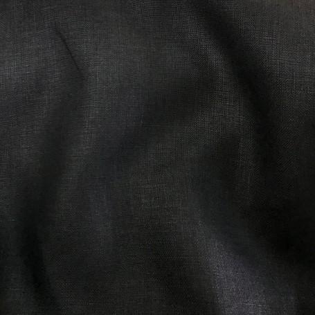 tissu lin noir cardailhac