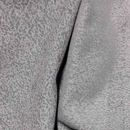 tissu jacquard gris et rose
