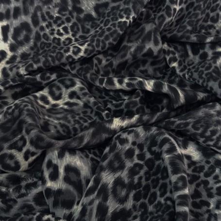 tissu leopard animalier