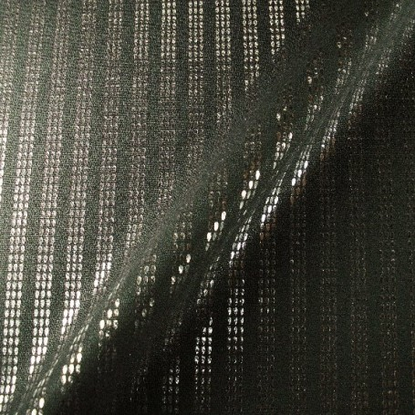 Tissu polyester-laine imprimé bande brillante