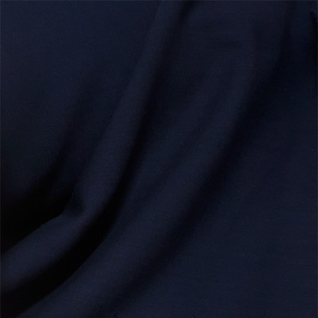 Tissu crepe bleu marine