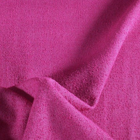 Tissu Polyester- Lin Fuchsia