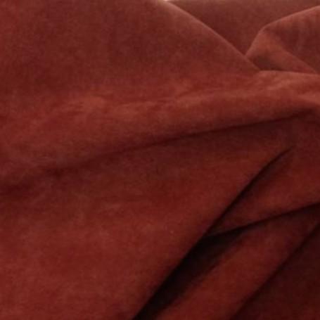 Tissu polyester M1 cuivre effet peau de pêche