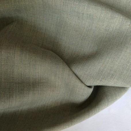Tissu polyester viscose gris acier