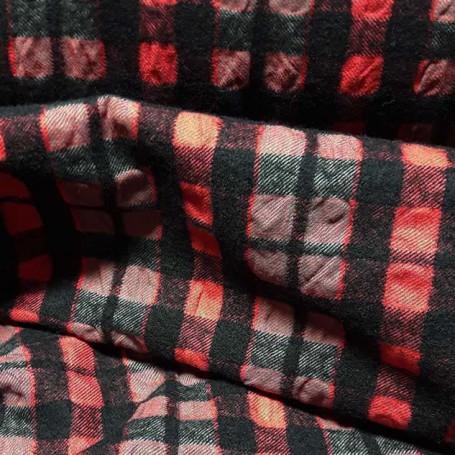 tissu rideaux noir et rouge tissu ameublement
