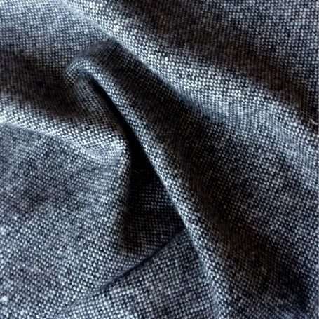 Rideau au metre tissu tweed donegal