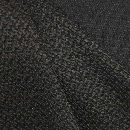 Tissu tweed noir astrakan