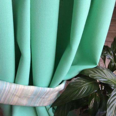 tissu d'ameublement vert