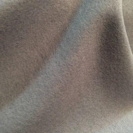Drap de laine bouillie gris