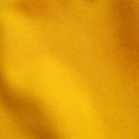 Drap de laine bouillie jaune