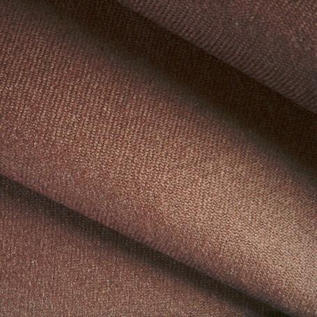 Tissu flanelle de laine peignée marron, jupe, pantalon