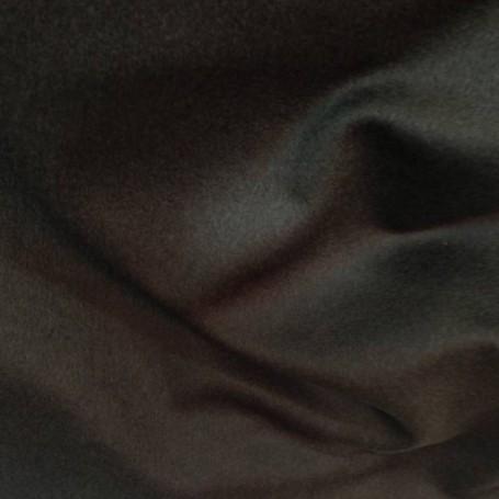 Drap de laine bouillie marron