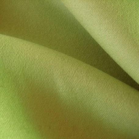 Tissu flanelle de laine peignée vert olive, vestes, jupes, pantalons