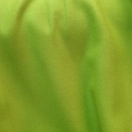 Tissu flanelle de laine peignée vert pomme