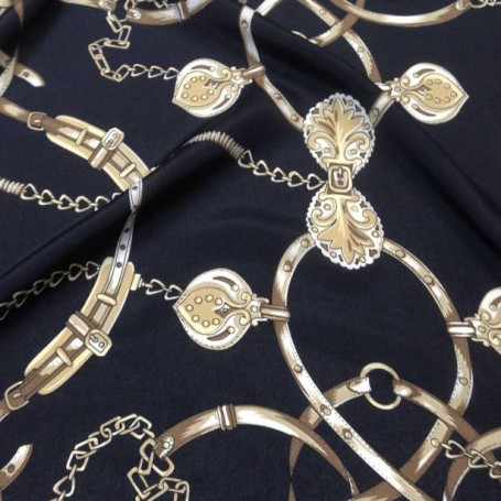 Tissu polyester Versailles pour chemisiers