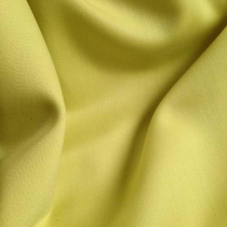 Drap de laine satin vert anis