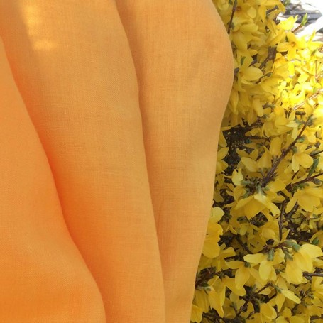tissu viscose tissu jaune