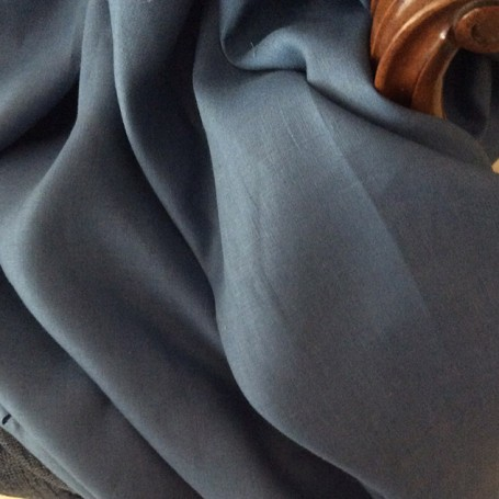 tissu décoration bleu
